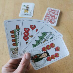 Hrací karty Chodský mariáš