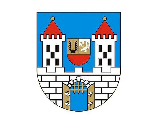 Znak města Hostouň