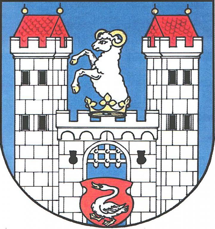 Znak města Poběžovice