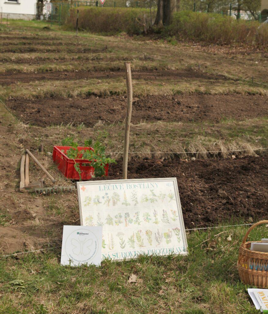 Komunitní bylinková zahrada Domažlice